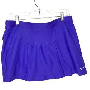 Nike Purple Built-in Spandex Athletic Tennis Skirt